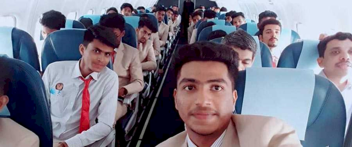 Flight to Bangalore for Aviation students